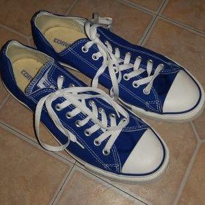Converse blue size men's 10
